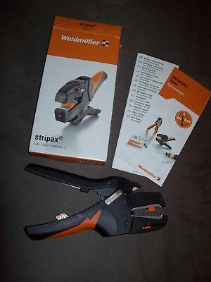 Abisolierzange Weidmüller stripax 0,08-10mm2 AWG 28-7 9005000000