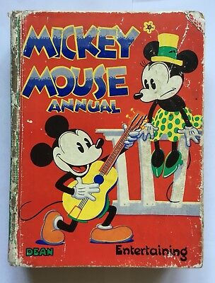 Mickey Mouse Annual 1935 Good Condition