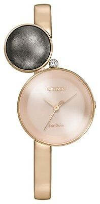 Citizen Eco Drive Women's EW5493-85X Ambiluna Rose Gold Tone 25mm Watch