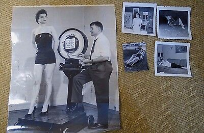 Vtg TOLEDO SCALE CO TEMCO SEXY MODEL ADVERTISEMENT PHOTOS RARE ORIGINAL PERSONAL