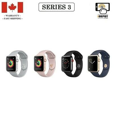 Apple Watch Series 3 - 38 mm, 42 mm (GPS, GPS + Cellular)