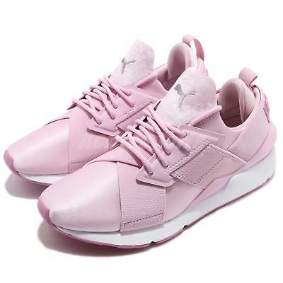 PUMA MUSE SATIN II Wns Winsome Orchid Chaussures Smoky Grape Femme Chaussures Orchid c8edd0