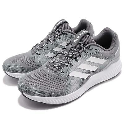 ADIDAS AEROBOUNCE 2 W White Grey Silver Women Running Shoes