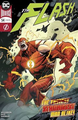 DC The Flash #54 NM/M The Strongest Man Alive!