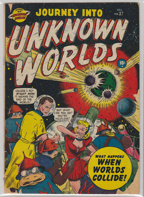 Journey Into Unknown Worlds # 37