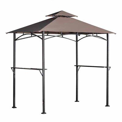 Sunjoy 5 x 8 ft. Replacement Canopy Cover for L-GZ238PST-6D Grill Gazebo