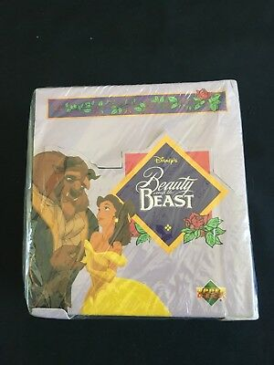 1992 UPPER DECK Disney Beauty & the Beast boxed collector cards in Italian