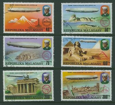 Malagasy 1976 Zepplins Issues CTO