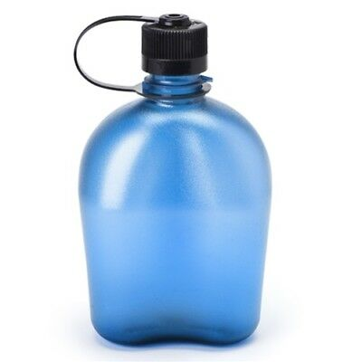 NEW Nalgene Narrow Mouth OASIS Water Bottle Canteen BLUE