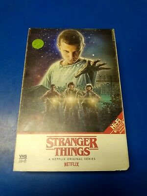 Stranger Things Season 1 Netflix Ultra HD 4K Blu-ray w/Collectible VHS Case