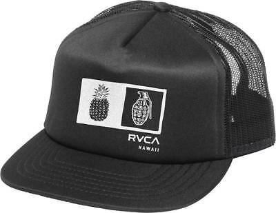 detailed look b5e3a 0c0c0 ... netherlands new rvca mens pineapple grenade trucker hat 132bc 10d11