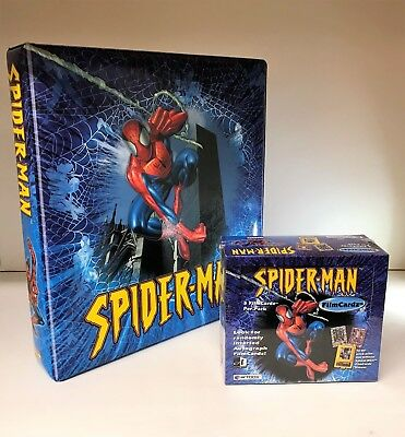 Spiderman FilmCardz & Binder - Sealed Trading Card Hobby Box - ArtBox 2002