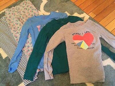 Lot Of Girls Shirts And Pants 6x To Size 7