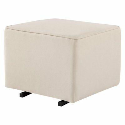 DaVinci Universal Gliding Ottoman with Cream Piping