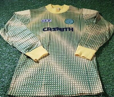 celtic sfl spl football scotland rare umbro no1 1980's vintage goalkeepers top