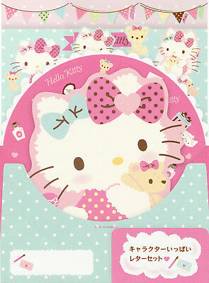 Sanrio Hello Kitty Letter Set with Die Cuts (2015)