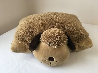 Pillow Pets Brown Puppy Dog  Plush Stuffed Animal  14 X 16