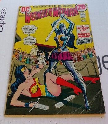 DC Comics New Adventures the Original Wonder Woman #204 1973 Nubia 1st App