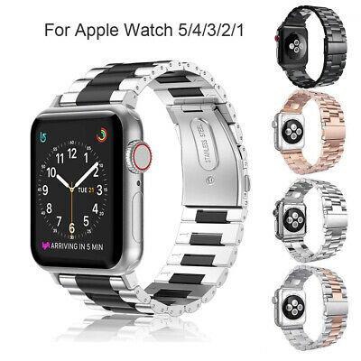 For iWatch Apple Watch Series 5/4 44mm Stainless Steel Band Strap Bracelet