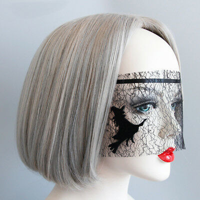 Halloween Gothic Masquerade Veil Mask Night Ball Fancy Dress Party Eye Masks