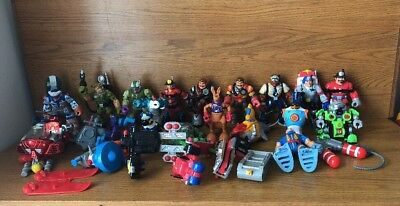 Fisher-Price Rescue Heroes 16 Figures Lot Plus Vehicles and other Accessories