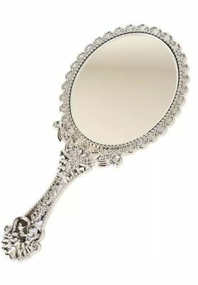 Fancy Hand-Held Mirrors with Handles, 10 in.