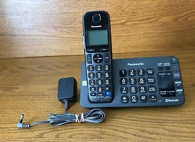 Panasonic KXTGE270 DECT 6.0 Digital Cordless Phone Answering System KX-TGE270