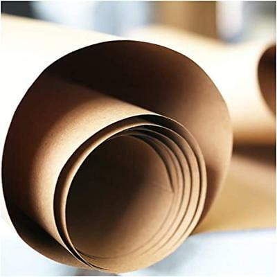 Brown Kraft Paper Roll For Wrapping, Packaging, Moving, Crafts, Protecting And X
