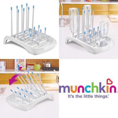 White Bottle Teats Cups Munchkin Deluxe Pump Parts Accessories Drying Rack *