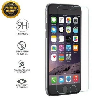 Lot Premium Real Tempered Glass Film Screen Protector For iPhone XS MAX XR X 8 7
