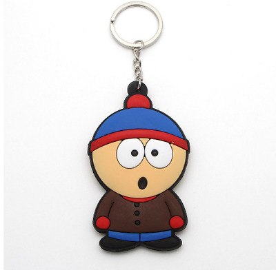 South park keychain comedy central stan action figure key chain doll key ring