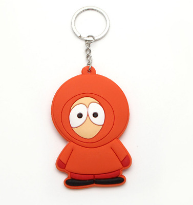 South park keychain comedy central Kenny action figure key chain game key ring