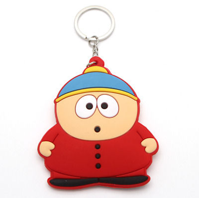 South park keychain comedy central eric cartman action figure key chain key ring