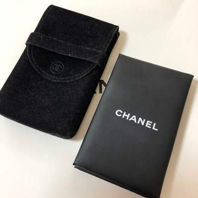 CHANEL oil blotting paper with mirror F/S Japan