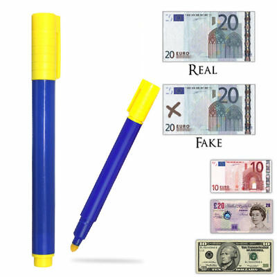 5 Counterfeit Money Detector Test Fake Dollar Bill Currency Check Pen Marker