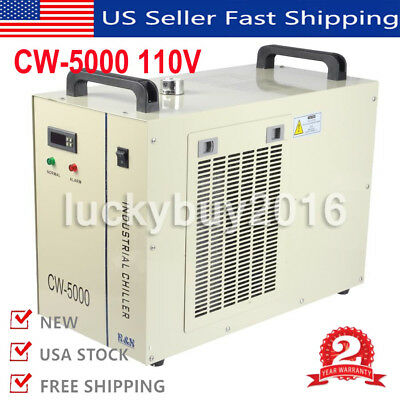 CW-5000 Industry Air Water Chiller CO2 Laser Engraving Cutting Machine 110V 60Hz