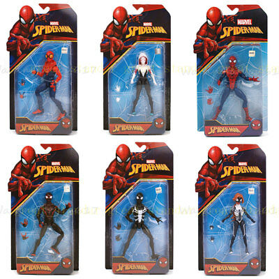 """Marvel 6"""" Spider Man Action Figure Amazing Spiderman CLASSIC TOY GIFT NEW IN BOX"""