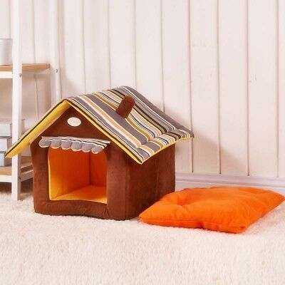 Dog Bed Pet House Foldable Soft Warm Sponge Cave Cute Dog Beds Kennel Nest Plush
