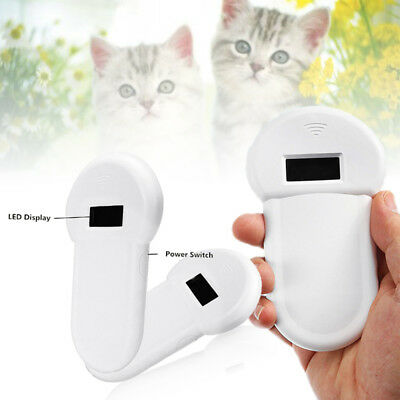 RFID ISO FDX-B Animal Chip Reader Microchip Handheld Pet Scanner 134.2Khz New