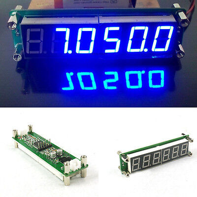 0.1 to 65 MHz RF 6 Digit Led Signal Frequency Counter Cymometer Tester meter blu