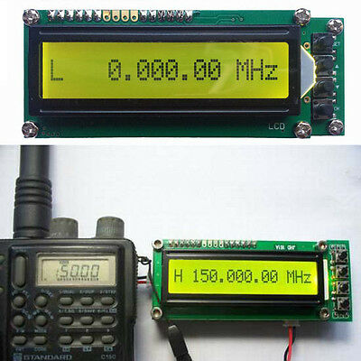 0.1MHz~1200MHz 1.2GMZ Frequency Counter Tester Measurement LCD For Ham Radio New