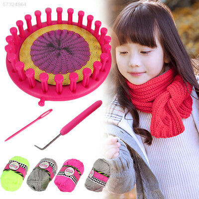 DIY Knitting Knit Knitted Machine Scarf Hat Sock Gloves Girls Kids Creative Toy