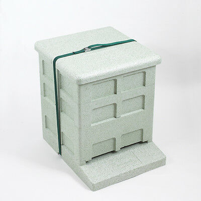 Polystyrene Complete National hive Complete with Hoffman Frames