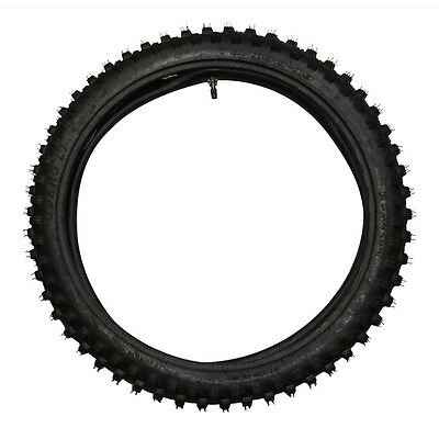 "70/100 - 19""  Front Knobby Tyre Tire +Inner Tube Pit Pro Bigfoot Trail Dirt Bike"
