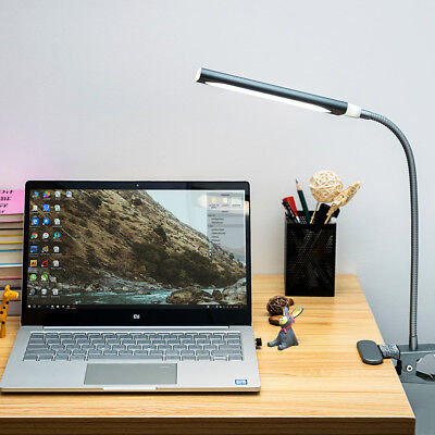 Flexible USB Table Reading Book Lamp 48 LED 5W Light Dimmable Clip-On Desk