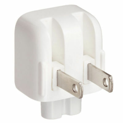 Replacement US AC Power Adapter Charger Wall Plug Duck Head for Apple Macbook