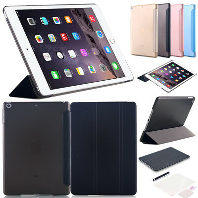 "Slim iPad 9.7"" 2018 2017 Air Schutz Hülle+Folie Tasche Smart Cover Standing Case"