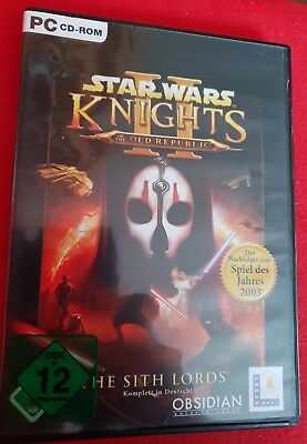 Star Wars: Knights Of The Old Republic II - The Sith Lords (PC, 2005, DVD-Box)
