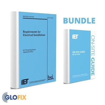 BUNDLE - IET 18th Edition Wiring Regulation Book & IET On-Site Guide