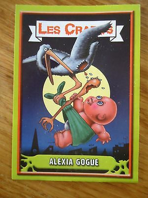 Image * Les CRADOS 3 N°115 * 2004 album card Sticker FRANCE Garbage Pail Kid